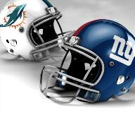 Giants vs. Dolphins