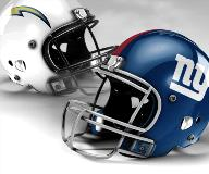 Giants vs Chargers