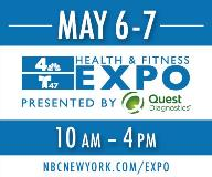 NBC 4 New York & Telemundo 47's 5th Annual Health and Fitness Expo Presented by Quest Diagnostics