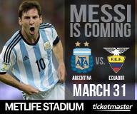 Argentina vs. Ecuador International Friendly