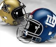 Giants vs. Saints