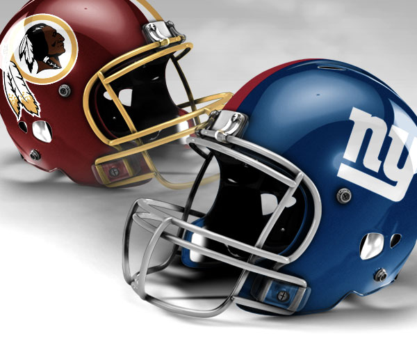 NY Giants vs Washington Redskins