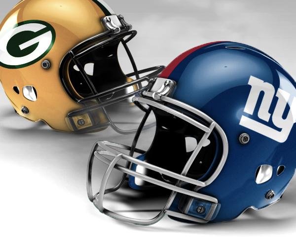 NY Giants vs Green Bay Packers