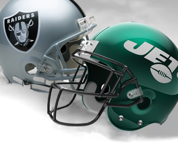 NY Jets vs Oakland Raiders
