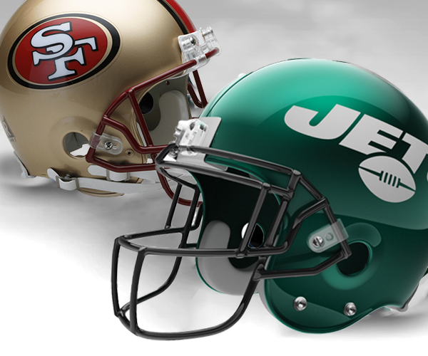 New York Jets vs San Francisco 49ers