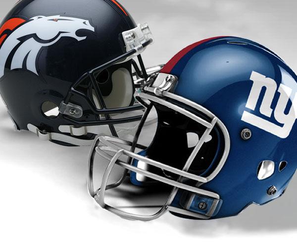 New York Giants vs Denver Broncos