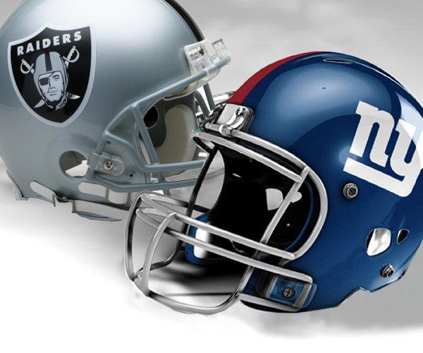New York Giants vs Las Vegas Raiders