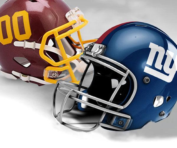 New York Giants vs Washington Football Team