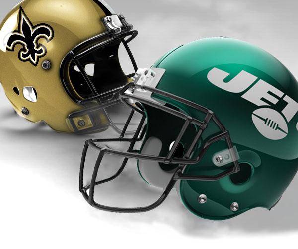 New York Jets vs New Orleans Saints