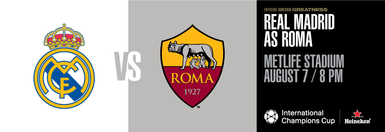 Real Madrid v Roma International_Champions_Cup 2018
