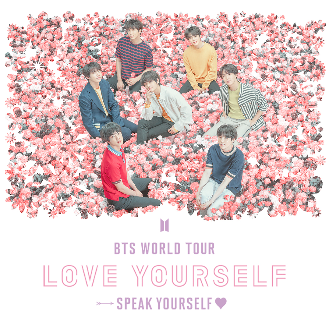 BTS 'LOVE YOURSELF: SPEAK YOURSELF' TOUR