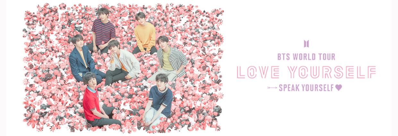 BTS 'LOVE YOURSELF: SPEAK YOURSELF' TOUR
