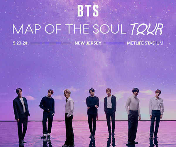 POSTPONED - BTS Map of the Soul Tour