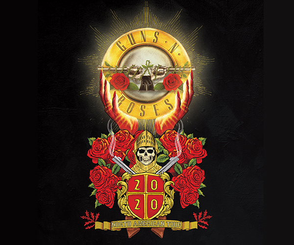 POSTPONED - Guns N' Roses 2020 Tour