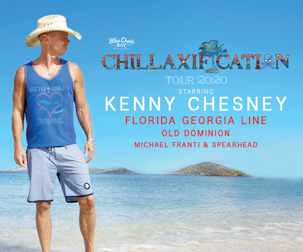 RESCHEDULED TO 8.21.21 - Kenny Chesney