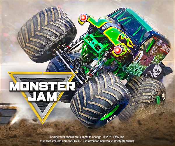Monster Jam - RESCHEDULED TO TOMORROW 7/18