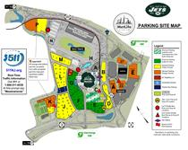 jets parking map