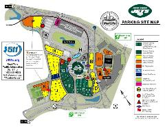 Jets Parking Map 2020